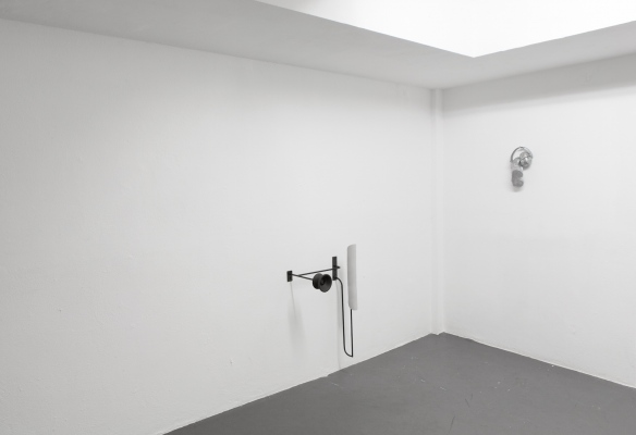 Installation view 'Maschinenraum' Between Here And Now, Gallery Marion Scharmann, Cologne